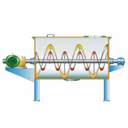 MRTO Mescolatori per polveri a doppia coclea tipo ribbon